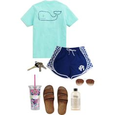 Untitled #3 by cannjoy on Polyvore featuring polyvore, fashion, style, Vineyard Vines, Eloquii, philosophy, Lilly Pulitzer and Avon