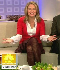 Amy robach in pantyhose