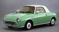 1991 Nissan Figaro.  When I win the lottery I will have one. :P