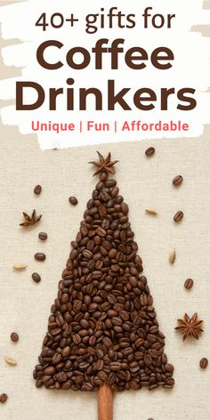 40+ Great Gift Ideas for Coffee Drinkers in your life this holiday season. In this Gift Guide for Coffee Lovers we share coffee christmas gifts for him and her, secret santa gifts for coworkers, so that you can find the perfect holiday gift for coffee lovers | Gift Ideas for Coffee Lovers | Amazing Coffee Gifts | Best gifts for coffee lovers Coffee Maker With Grinder, Best Coffee Grinder, Pour Over Coffee Maker, Best Coffee Maker, How To Make Coffee, I Love Coffee, Coffee Time, Coffee Lover Gifts, Coffee Lovers