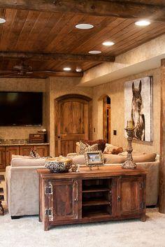 Rustic Interior Design by:...    http://www.jenniferhuttoninteriors.com/