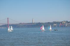 River Tejo at Lisbon, Portugal