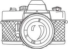 """Through the Lens design (UTH4996) from UrbanThreads.com 6.77""""w x 4.84""""h"""