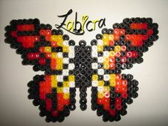 Butterfly hama perler by zabicra on skyrock