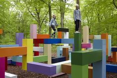 216playscapes: 'Primary Structure' by Jacob... - People and Place