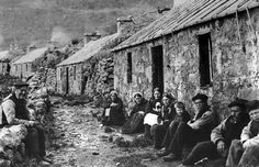 In the Scottish Highlands and Islands stories abound of the dreaded Clearances and many abandoned crofts, farms and cottages dot the mysterious landscape.