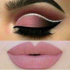 Eye Makeup Steps, Makeup Eye Looks, Eye Makeup Art, Sexy Makeup, Smokey Eye Makeup, Cute Makeup, Eyeshadow Makeup, Lip Makeup, Beauty Makeup