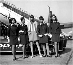 Photo of the Day - Olympic chic--Olympic Airlines (Greece) Olympic Airlines, Travel Chic, Air Travel, Luxury Travel, Trolley Dolly, Airline Uniforms, Intelligent Women, Cabin Crew, Athens Greece