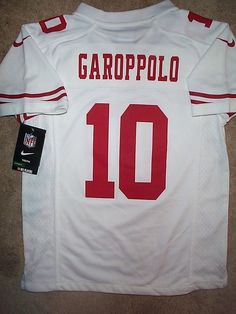 81442c840  IRREGULAR  San Francisco 49ers JIMMY GAROPPOLO nfl NIKE Jersey Youth  (m-medium)   39.94 End Date  Monday Nov-12-2018 11 22 42 PST Buy It…