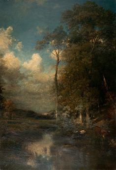 Jules DUPRÉ Le soir,1865 (vers) ~ <3 French art!