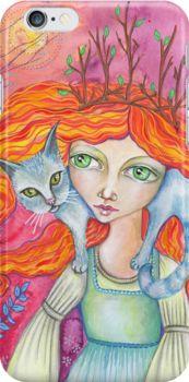 The Cat Woman by LucyBrydonArt