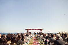 Irene + Thomas Tie The Knot at Terranea Resort in Southern California