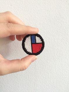 "holzerisms: "" Mondriaan Cross Stitch Patches """