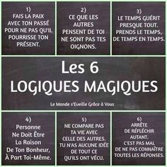 Quotes and inspiration QUOTATION - Image : As the quote says - Description les 6 logiques magiques - Atmosphère Citation Sharing is love, sharing is everything Positive Mind, Positive Attitude, Quotes Positive, Positive Thoughts, Quote Citation, French Quotes, Some Words, Positive Affirmations, Mantra