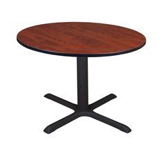 "Cain 48"" Round Breakroom Table- Cherry"