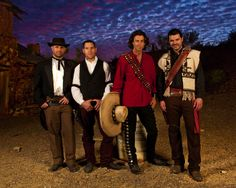 Roger Clyne & The Peacemakers in Puerto Penasco, Mexico.