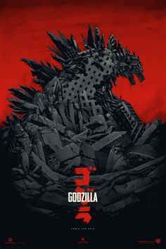 Godzilla poster by Phantom City Creative
