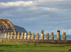 See photos of remote Easter Island (Rapa Nui) in the Pacific Ocean in this World Heritage site gallery.