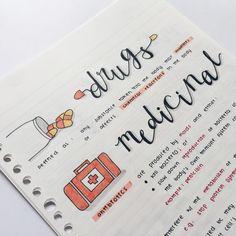 Imagem de study, note, and school
