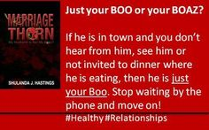 Do you have a Holiday #Boo or #Boaz?  #relationships