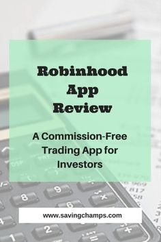Robinhood app allows investors to buy and sell stocks with no commission, no minimum deposit requirement, and no maintenance fee. Personal investment, save money, personal finance, investment app.
