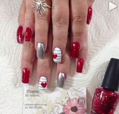 181 Best February Nails images in 2017 | Pretty nails, Cute nails ...