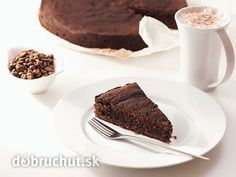 Francúzska čokoládová torta
