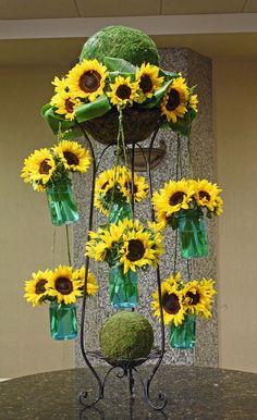 Sunflower Carousel by Crossroads Florist, Mahwah NJ
