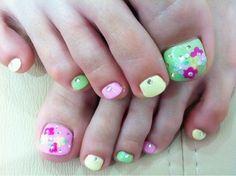 Cool Toe Nail Art Designs 2012