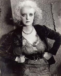 Bette Davis in Of Human Bondage (1934).