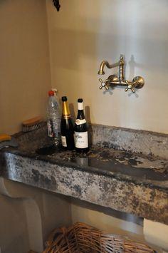 Bathroom Sinks Stink stone sink, garden stones and sinks on pinterest