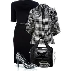 Classy, chic, feminine and powerful outfit.