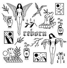 Rose Tattoos, Body Art Tattoos, New Tattoos, Small Tattoos, Punk Tattoo, Gothic Tattoo, Tattoo Sketches, Tattoo Drawings, Tattoo Studio