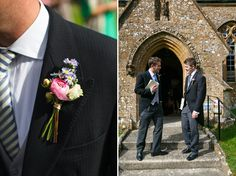 A Bright and Colourful Somerset Marquee Wedding