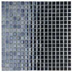<li>Mirrored glass tile is perfect for your kitchen, bath or backsplash</li> <li>Mini mosaic wall tile comes in tones of obsidian black</li> <li>Wall tiles have a modern design styled for interior or exterior home improvement projects</li>