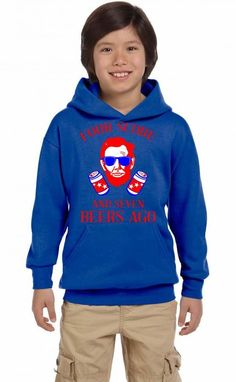 4th of july party shirt Youth Hoodie