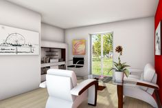 Interior Design & Rendering: bright and warm room to enjoy your relaxing moments. Graphic Software: 3DS Max