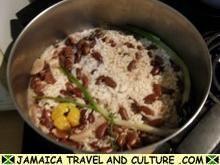 Jamaican Rice and Peas - ahhhhhh