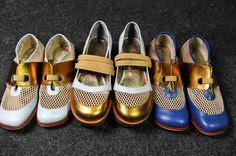 Sapatos Aguarela: Ronaldo Fraga