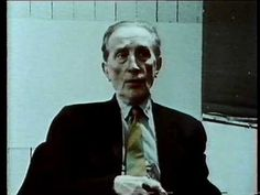 Marcel Duchamp interviewed in '66. Talks about unnecessary adoration of art. The idea behind the 'Fountain' was to chose and object that would not attract him either by its beauty or by it ugliness - to find a point of indifference in looking at it.