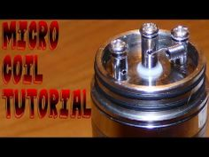 I will be giving a tutorial on how to build a 28 gauge micro coil for your atomizers and also showing you how to wick for maximum performance. Enjoy.