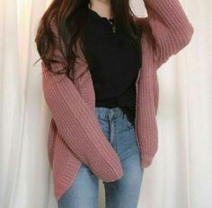 korean outfits that looks stunning Korean Girl Fashion, Korean Fashion Trends, Korean Street Fashion, Ulzzang Fashion, Asian Fashion, Look Fashion, 90s Fashion, Fashion Ideas, Korean Fashion School