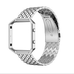 Sunfei Accessories Band Small,Luxury Genuine Stainless Steel Strap for Fitbit Blaze Smart Fitness Watch (Sliver) - http://www.exercisejoy.com/sunfei-accessories-band-smallluxury-genuine-stainless-steel-strap-for-fitbit-blaze-smart-fitness-watch-sliver/fitness/
