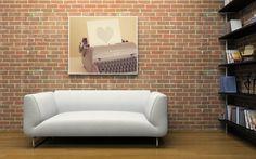 Typewriter Love art inspir, 2800, art paintings, photographs, art photograph, artist decor, art prints, shannonpix, decor idea