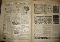 Allers Mönstertidning Nr 7, 5 April 1908 Mode Handarbete på Tradera.
