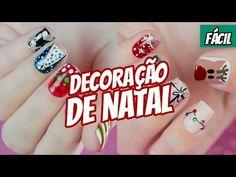 10 UNHAS DECORADAS PARA O NATAL FÁCIL DE FAZER - Ideia Rosa - YouTube