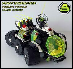 Blacktron 2 - Heavy Starguider |#LEGO #space #MOC