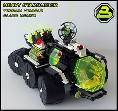 Blacktron 2 - Heavy Starguider  #LEGO #space #MOC