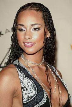 Micro Braid Style for Black Women
