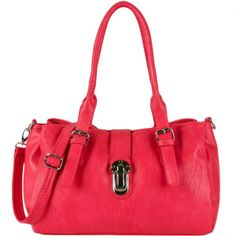 Women's #Fashion #Bags: #Handbags, #Purses, and Totes: Spencer Shoulder Bag in Fuchsia #Pink